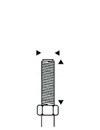 Dimensioni perno filettato